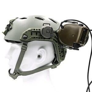 Image 5 - Taktyczna wojskowa Peltor kask zestaw adapterów zestaw słuchawkowy i szybki Ops Core kask rail adapter akcesoria do zestawu słuchawkowego