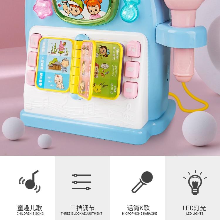 Microfone brinquedo musical para crianças, brinquedo musical