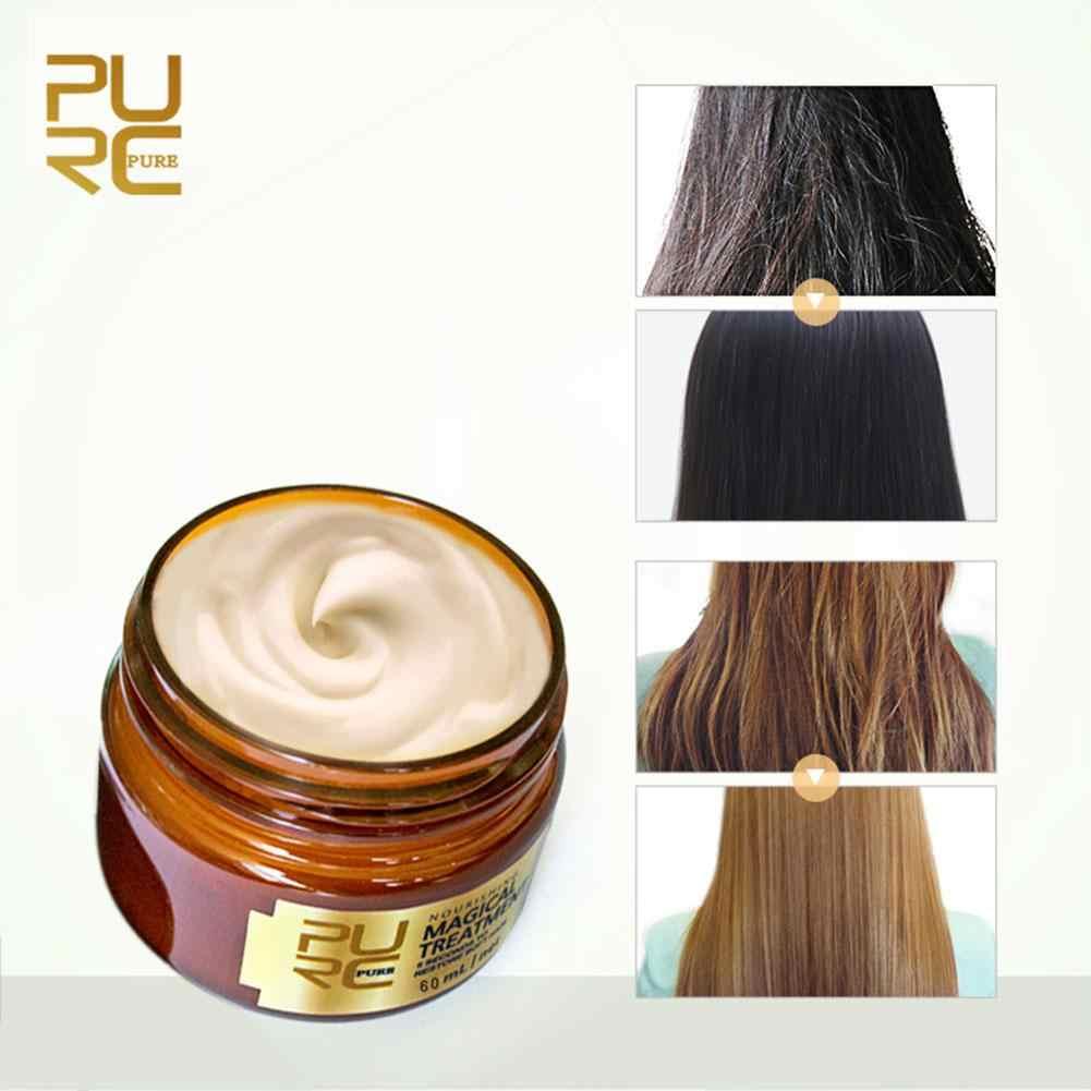 60ml Magical Hair Treatment Mask Repairs Damage Restore Soft Hair Keratin Hair Care & Scalp Treatment