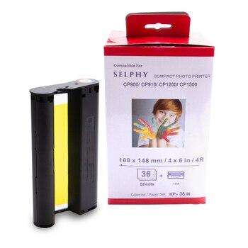 UniPlus Ink Cartridge Compatible for Canon Selphy cp1300 cp1200 cp900 cp910 Photo Printer Color Ink for Imprimante Selphy Canon casual canvas handbags portable storage bag men women case for canon selphy cp910 900 1200 digital photo printer