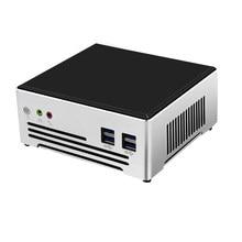 TOPTON Moins Cher i7 i9 Mini PC Intel Core i9 10880H 9880H Windows 10 Pro Barebone Ordinateur De Bureau 2 * DDR4 4K HTPC minipc 2 nic