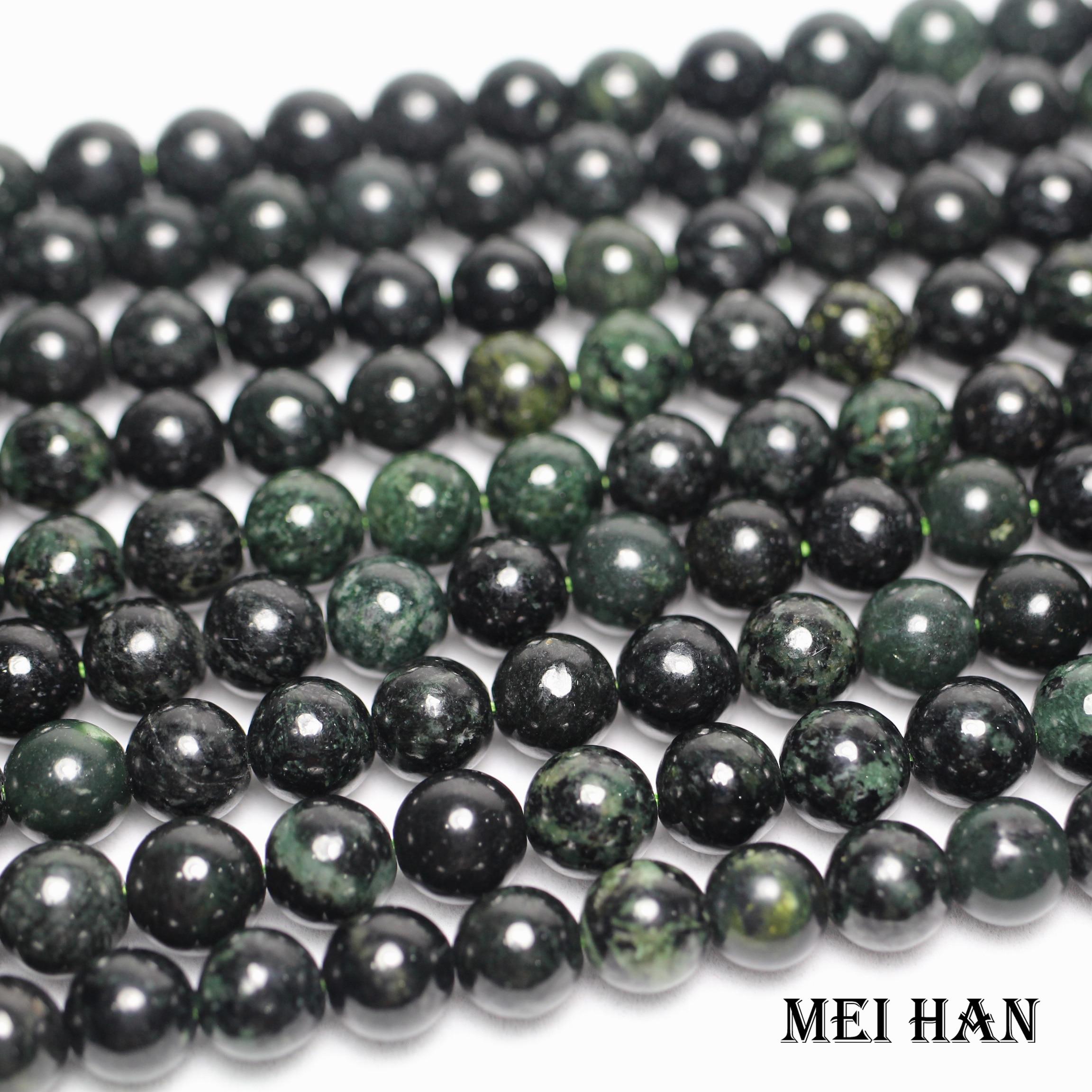 "4mm-10mm naturel naturel lisse Lavande Jade Round Gemstone Loose Beads 15/"""