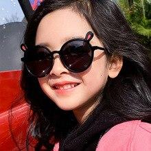 Gafas de sol polarizadas para niños y mujeres, lentes de sol con marco de silicona, gafas de bebé