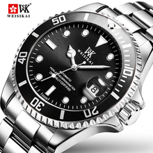 WEISIKAI Diver Watch Automatic Mechanical Watches Sports Top Brand Luxury Men's Diving Watches Male Wristwatch Relogio Masculino все цены