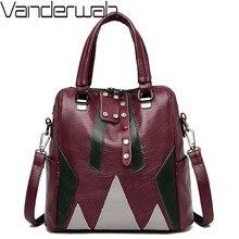 Kadın hakiki deri sırt çantaları kadın omuz çantaları Sac rahat seyahat bayanlar sırt çantası Mochilas okul çantaları genç kızlar için