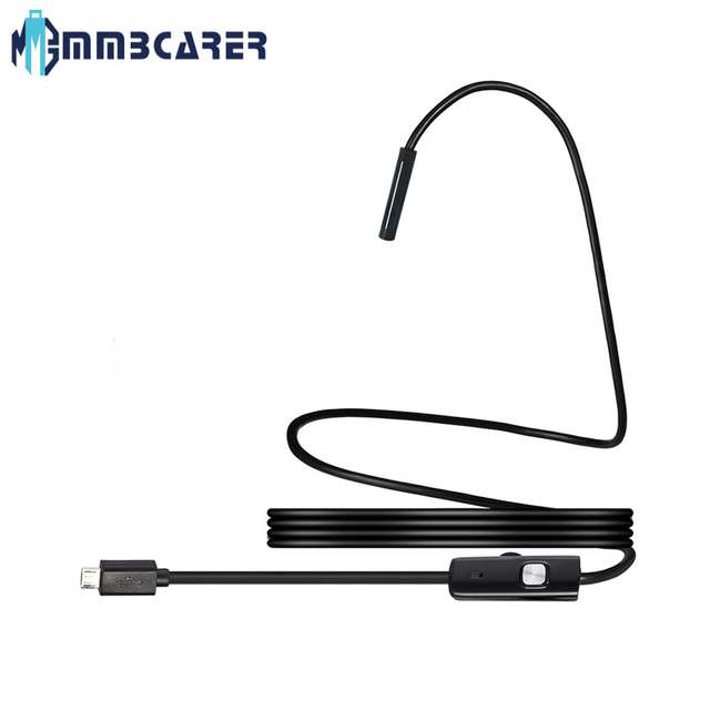 Endoscope USB Android mini camerCamera 6LED Waterproof Inspection Borescope Flexible Camera 5.5mm7mm for PC Notebook spy gadgets 1