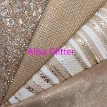 1 pçs a4 tamanho 21x29cm alisa brilho ouro glitter couro com números, tecelagem metálica folhas de tecido sintético para diy g275