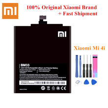 100% Original Battery BM33 For Xiaomi Mi 4i Mi4i M4i Genuine Mobile Phone Batteria Best Quality 3030/3120mAh Li-Polymer +Tools(China)