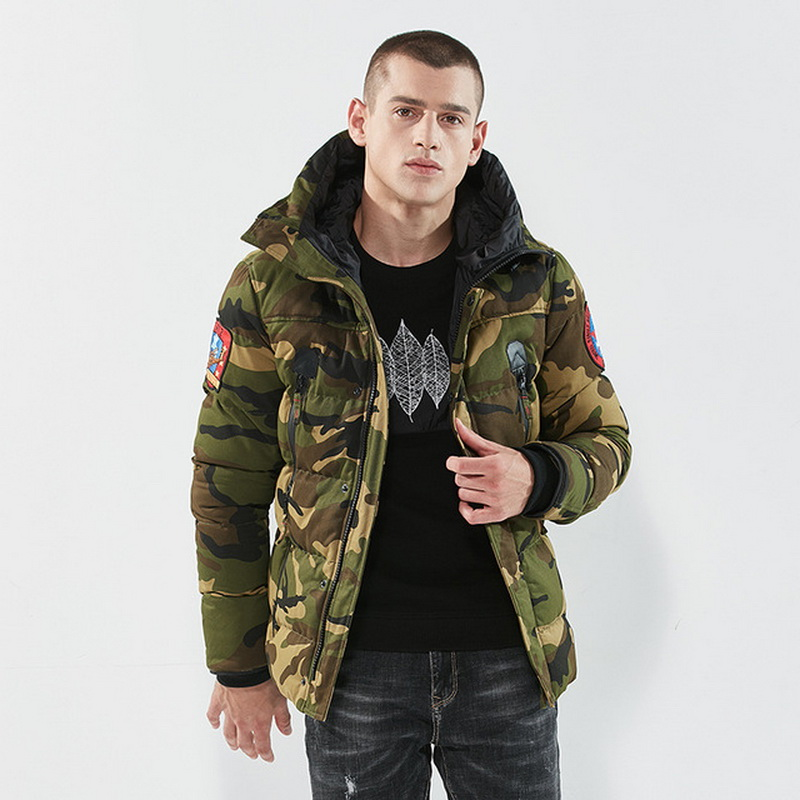 Plus Size M-XXXL 4XL 2019 Padded Winter Jacket Men Coat Clothes Thick Keep Warm Military Camouflage PARKAS