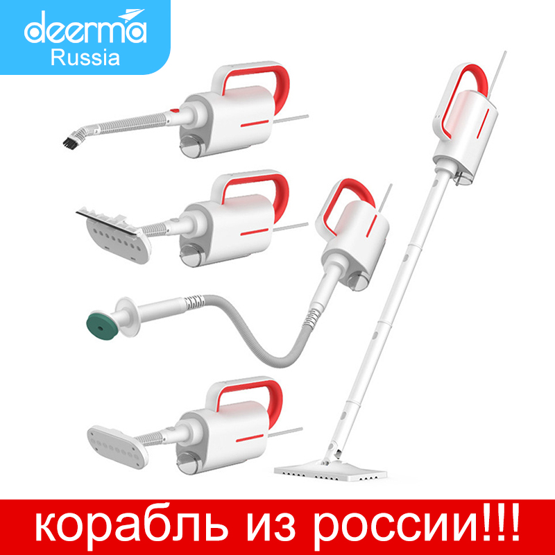 Xiaomi Original Deerma ZQ610 Steam Cleaner Electric Handheld Steam Mop Floor cleaner free 5 Attachments Cleaning Vacuum Machine|Steam Cleaners|   - AliExpress