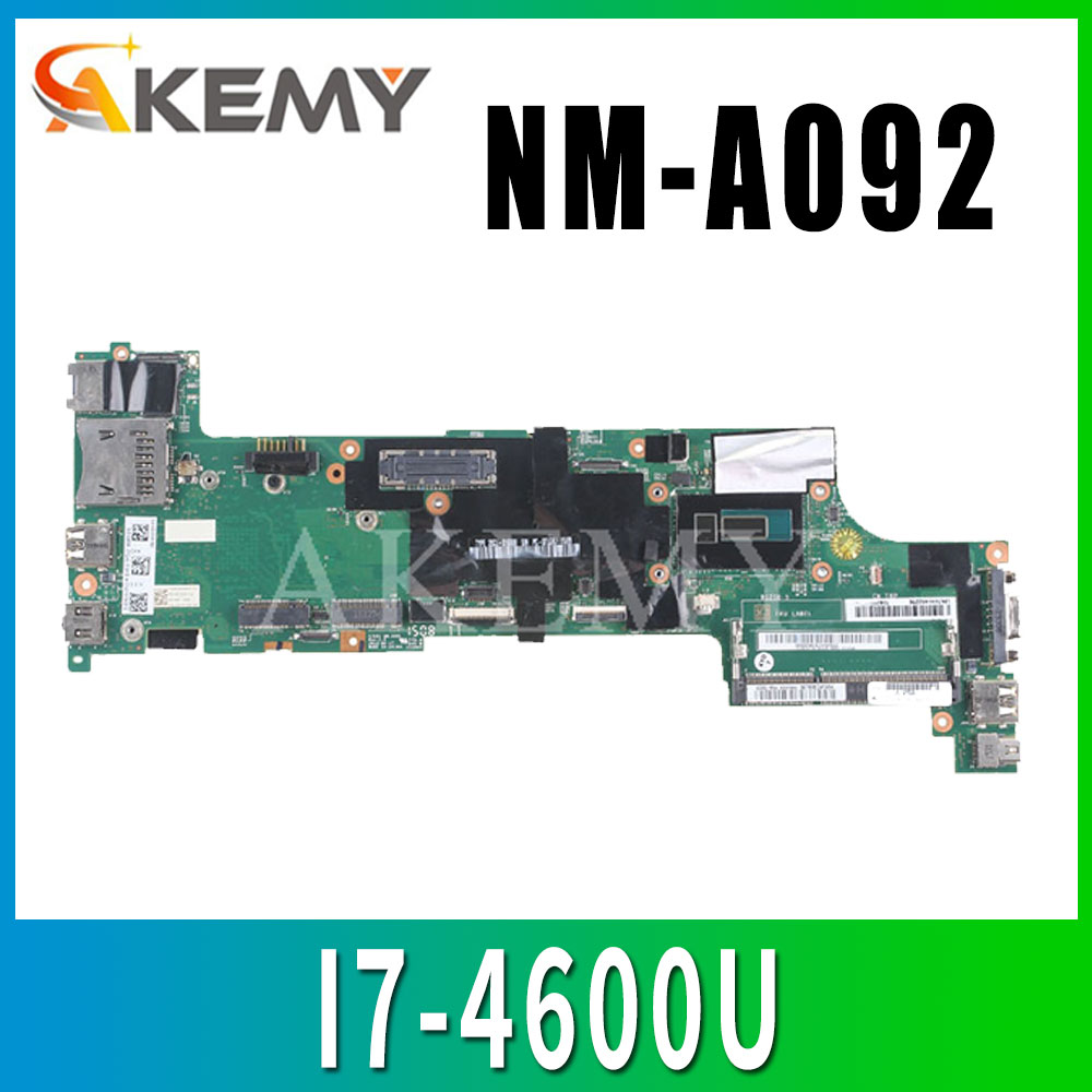 Laptop motherboard For LENOVO ThinkPad X240 <font><b>I7</b></font>-<font><b>4600U</b></font> Mainboard 04X5166 04X5178 VIUX1 NM-A092 image
