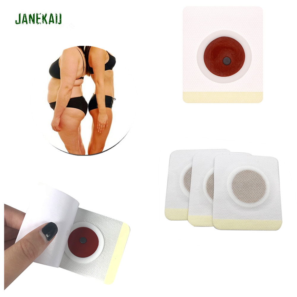 30Pcs Traditional Chinese Medicine Slim Patch Navel Stick Weight Lose Body Shaping Plasters Belly Arm Leg Fat Burning Tools B179