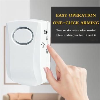 Czujnik alarmu wody wykrywacz nieszczelności 130dB dźwięk przepełnienie Alarm wycieku powodzi Monitor zdalny wyciek do zlewu piwnica tanie i dobre opinie Youool Brak water leakage alarm
