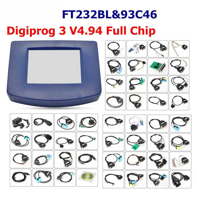 Digiprog3 V4.94 Mileage Correction Works Multi-Cars Multi-Language  FT232BL&93C46 Chip Digiprog III FAST Shipping