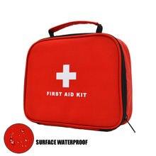 Sac de premiers secours étanche avec poignée, kit d'urgence de survie en plein air pour camping en plein air, randonnée, pêche