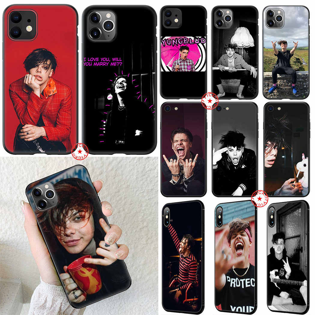 Yungblud Soft Silicone Case for iPhone 11 Pro XR X XS Max 6 6S 7 8 Plus 5 5S SE Cover