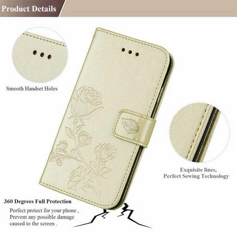 Obudowa portfelowa dla Vertex Impress Luck L100 L120 kamień Aero Aqua niedźwiedź nowe wysokiej jakości klapki skórzane ochronne etui na telefon