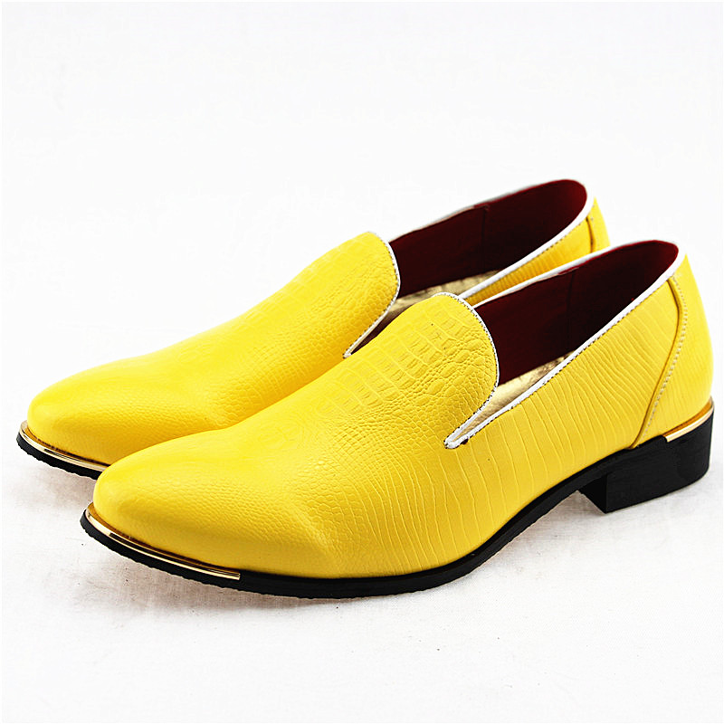 New 2019 Autumn Men's Leather Loafers Casual Shoes Fashion Mens Snakeskin Pattern Driving Shoes Breathable Man Flats Moccasins-in Men's Casual Shoes from Shoes