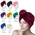 2021 модный хиджаб для мусульманок шапка одноцветная Цвет индийские накидка платок тюрбаны внутренние хиджабы капот плат Mujer