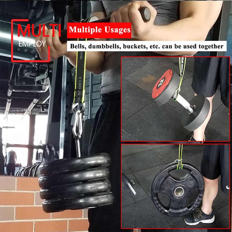GYM Fitness Biceps Forearm TRAINER แขน Triceps Blaster ลูกกลิ้ง Power น้ำหนักยกเชือก Gripper Strengthener อุปกรณ์