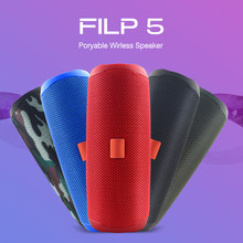 Haut-parleur bluetooth sans fil Portable musique kaléidoscope Flip5 Audio IPX7 étanche haut-parleur bluetooth prise en charge Multiple FM TF USB(China)