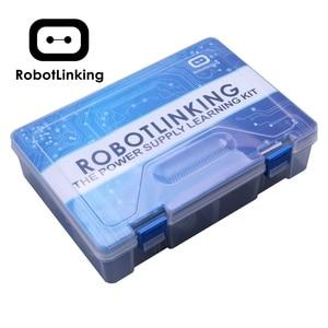 Robotlinking UNO Project самый полный стартовый набор для Arduino Mega2560 UNO с обучающим/блоком питания/сервоприводом шагового двигателя