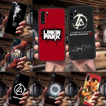 Band Linkin Rock and parks Phone Case For Huawei P Mate Smart 10 20 30 40 Lite Z 2019 Pro black Etui Trend Coque Soft Prime image