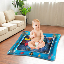 Hot! Baby Kids Water Play Mat Inflatable Infant Tummy Time Playmat Toddler for Fun Activity Center Dropship #R25