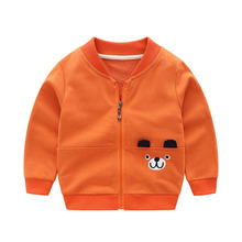 Baby Boy Coat 2019 Spring Autumn Cartoon Baseball Jacket for Girls Coat Kids Outerwear Coat for Boys Cotton Children Clothes недорого