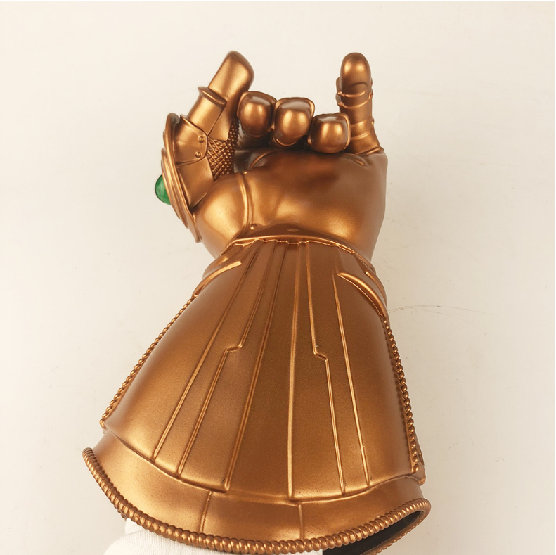 Thanos Infinity Gauntlet  PVC 1:1 Wearable Cosplay Statue Removable LED Glove