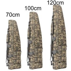 70 100 120 см тактический пистолет сумка двойной винтовочный чехол страйкбольная кобура CS Военная охота снайпер плечевой ремень пистолет защит...