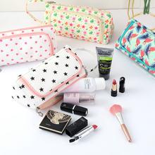 Новая Женская дорожная косметичка сумочка для стирки женские