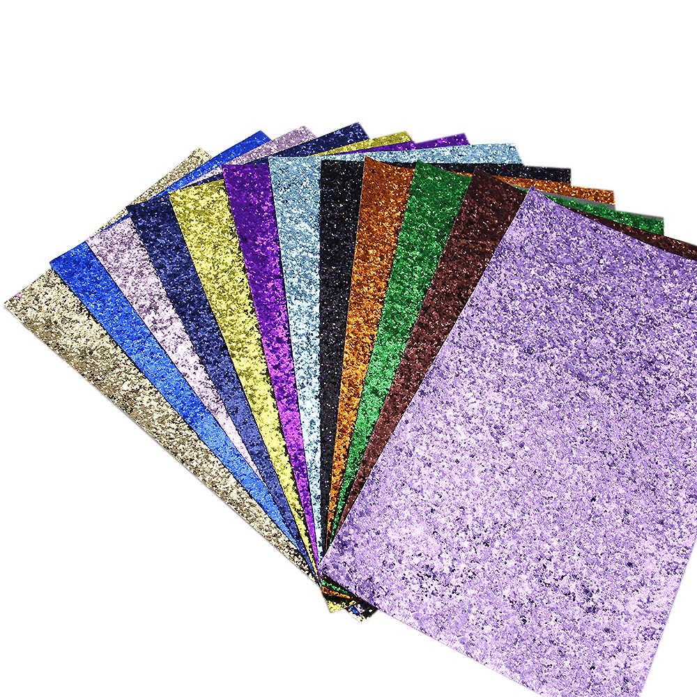 Accesorios David 20*34cm brillo grueso brillante Tela de cuero sintético para papel tapiz bolsa zapatos DIY decoración, 1Yc5788