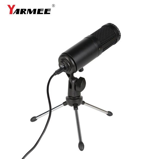Фото конденсаторный usb микрофон конденсаторный компьютер для пк цена