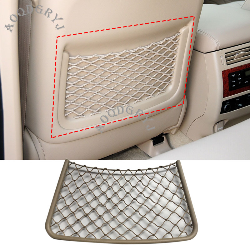 Car Accessories Front Seat Back Map Storage Pocket Nets For Toyota Land Cruiser LC100 4500 4700 1998-2007