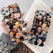 Yndfcnb Sebastian Stan Collage Bucky Barnes Telefoon Case Voor Iphone 8 7 6 6S Plus X 5S Se 2020 Xr 11 12 Mini Pro Xs Max