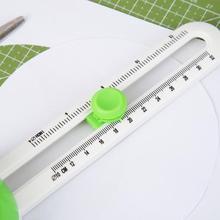 Круглый режущий нож, модель, лоскутный компас, Круглый резак, круговой бумажный Скрапбукинг, карты, резаки, Простой нож для резки бумаги