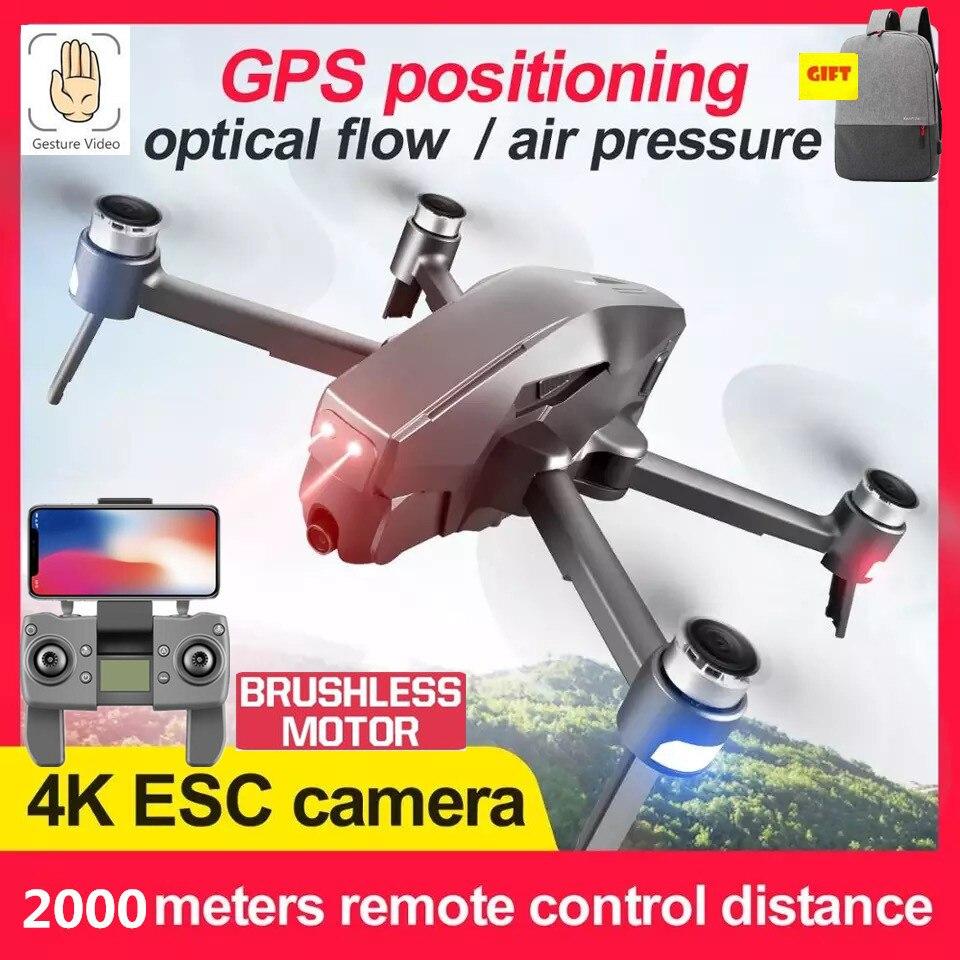 Bezszczotkowy do drona GPS Quadcopter HD 4K 1080P 5G WIFI FPV 1.6KM odległość sterowania lot 30minut helikopter rc profesjonalny dron