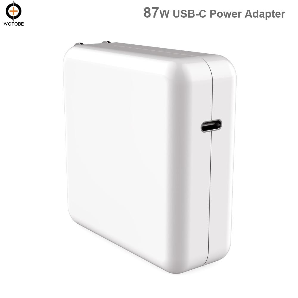 USB C strømadapter 18W 30W 61W 87W QC3.0 USB PD3.0 Vegglader For MacBook Pro Air iphone 11 11pro X 8 iPad Pro S8 S9 S10, osv.