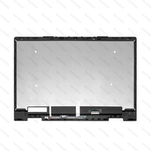 15.6 For HP ENVY x360 15-bq051sa 15-bq050sa 15-bq015nd 15-bq002au  FHD LED LCD Touch Screen Digitizer Assembly+ Frame