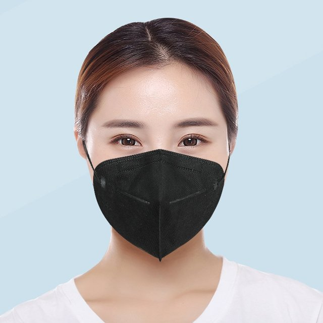 1/5/10/20PCS Black Face Mouth Mask Filter Pad Fashion Anti Flu Mask Pollution Dustproof Breathing Safety Caps for KF94 N95 KN95 2