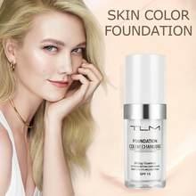 Nawilżający trwały korektor zmieniający kolor fundacja profesjonalny wodoodporny makijaż płyn do pielęgnacji skóry fundacja TSLM1