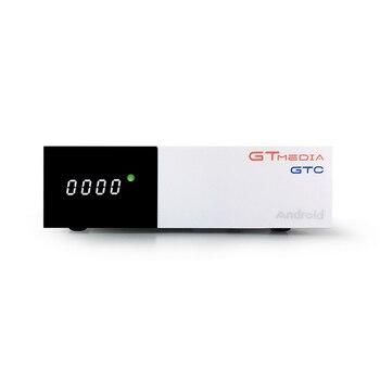 GTmedia GTC Satellite Receiver DVB-S2/T2/Cable ISDBT android 6.0 support IP TV Netflix Youtube wifi decoder PK H96 [genuine]dmyco v9s pro usb wifi dvb s2 satellite tv receiver support powervu bisskey necamd youtube youporn pk v8 super