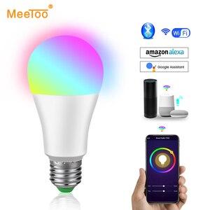 WIFI Bulb Smart Light Bluetooth APP Control E27 LED Lamp RGB RGBW RGBWW Magic Light Bulb 5W 10W 15W Spotlight Home Decor 85-265V