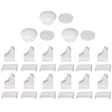 15 pcs Child Children Protection Baby Safety Lock Drawer Latch Cabinet Door Limiter Infant Security Locks Universal Magnetic