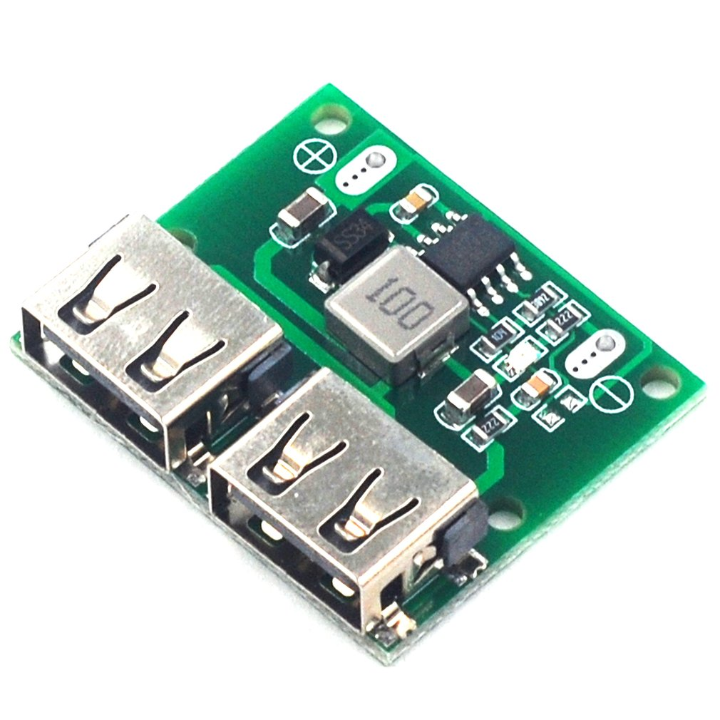 Dual Usb Output 9V/12V/24V To 5V 3A Dc-Dc Car Charging Buck Regulator Module Small Voltage Charging Module