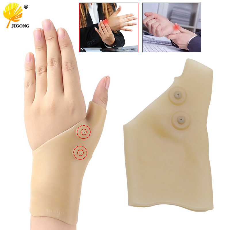 Magnetic Therapy Wrist Glove Tenosynovitis Pain Relief Wrist Hand Thumb Support Gloves Wrist Support Braces For Men And Women