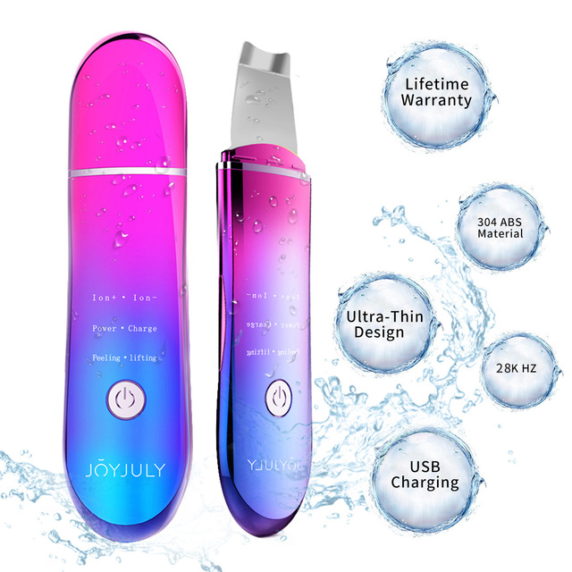 CE Certification Ultrasonic Pore Cleaner Face Wash Machine Skin Cleanser Remove Blackhead Acne Instrument Beauty Instrument 2