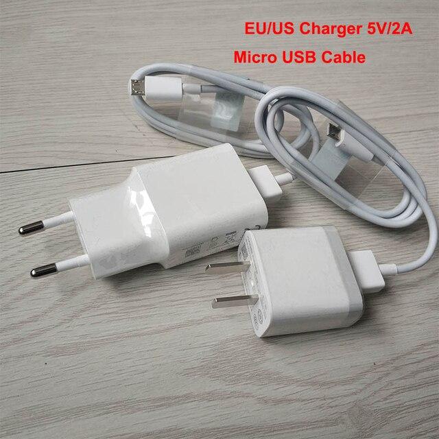 Adaptateur XIAO mi 5V2A prise ue/US chargeur de téléphone de voyage mural + synchronisation de données USB mi cro pour XIAO mi 3 4 rouge mi 4x 4a 5a 5 Note 4 5 7 7A 6A