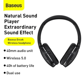 Baseus D02 Pro Wireless Headphones Sport Bluetooth 5.0 Earphone Handsfree Headset Ear Buds Head Phone Earbuds For iPhone Xiaomi 2